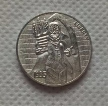 New Hobo Nickel 1935 Vampire Prince of Darkness Casted Coin Buffalo - $11.99