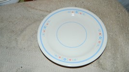 CORELLE NEEDLEPOINT SALAD / BREAD / DESSERT PLATES SET OF 4 VGUC FREE US... - $23.36