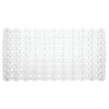 InterDesign Enzo Non-Slip Suction Bath Mat for Shower, Bathtub - Clear - $24.55