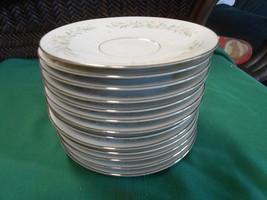 Great Grace Fine China Rhapsody... Set Of 13 Saucers - $17.04