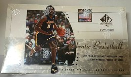1999-00 Upper Deck SP Authentic Basketball Hobby Box Factory Sealed - $371.25