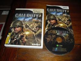 Call of Duty 3 (Nintendo Wii, 2006) - $7.91