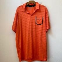 Mens Nike Golf Sherwood Country Club Orange Polo - $34.65