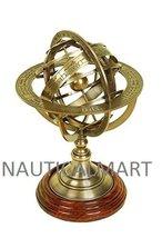 NauticalMart Brass Globe Armillary Unique Table Decor - $97.02
