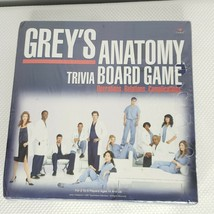 Grey's Anatomy Trivia Board Game Cardinal 2007 Sealed New - $55.65