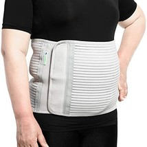 JOMECA Plus Size Bariatric Abdominal Binder, Hernia Support Compression Belt, St image 1