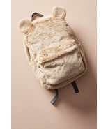 Anthropologie Fuzzy Bear Backpack - NWT - $76.49