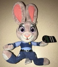 "ZOOTOPIA OFFICER JUDY HOPPS 9"" Medium PLUSH NEW w/TAGS TOMY - $14.84"