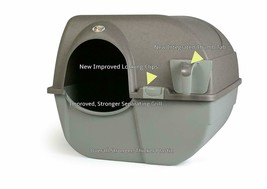 Cat Litter Box Self Cleaning Automatic Roll N Clean Removable Tray Waste... - $35.65