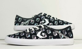 Converse X Hello Kitty Collection Costa OX Black New Womens Size 8 - $56.99