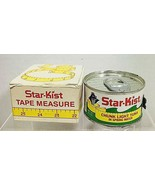 Vintage Starkist Star Kist Tuna Can Tape Measure MIB Sewing T18 - $74.25