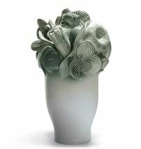 Lladro Porcelain 01007901 Naturo - Large vase (green) Retired New Box 7901 - $1,062.10