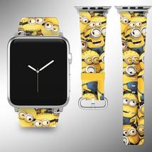 Minions Apple Watch Band 38 40 42 44 mm Disney Series 1 2 3 4 Wrist Strap 03 - $24.99+