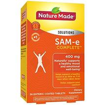 Nature Made SAM-e Complete 400 mg Tablets, 36 Count Value Size, Supports a Healt - $27.57
