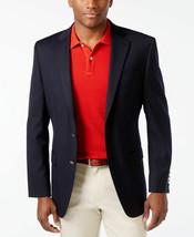 Michael Kors Mens Classic Fit Wool Sport Coat Blue Suit Jacket Blazer 38 S - $124.73