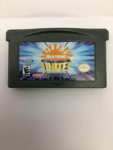 Nicktoons Unite Nintendo Game Boy Advance 2005