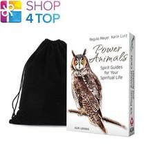 POWER ANIMALS DECK SPIRITGUIDES FOR YOUR SPIRITUAL LIFE ESOTERIC AGM VEL... - $28.70