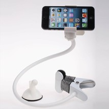 Universal flexible long arm mobile phone holder white - £9.37 GBP