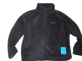 COLUMBIA Sawyer Rapids Black full zip 2.0 Fleece plus size 2X NEW - $54.66