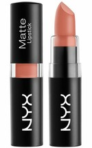 2 Pack NYX Matte Lipstick color MLS01 Nude, New / Sealed, FREE SHIPPING! - $4.99