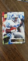 1994 TOPPS STADIUM CLUB SUPER BOWL XXIX EMBOSSED CARD BARRY SANDERS LION... - $39.99