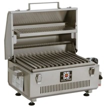 Portable Infrared Propane Gas Grill Stainless Steel Warming Rack Carryin... - £553.00 GBP