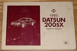 1983 nissan datsun 200sx owners manual parts service original - $19.99