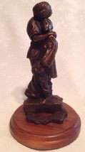 Mother holding  Son Bronze Statue - $296.99