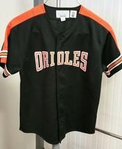 VTG Cal Ripken Jr Starter Jersey 1990's YTH Large MLB Baltimore Orioles ... - $49.49