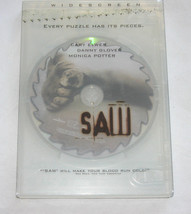 Saw DVD, 2005, Widescreen, Cary Elwes, Monica Potter, Danny Glover Free ... - $8.17