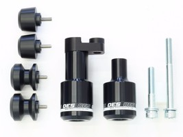 OES Frame Sliders Bar Ends Swingarm Spools 2006 2007 Yamaha R6 YZFR6 No Cut - $79.99
