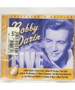 Bobby Darin Live Sealed CD Collectors Edition 1960's Music - $9.80