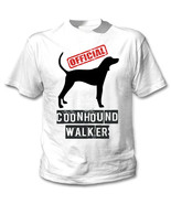 COONHOUND - OFFICIAL WALKER - NEW COTTON WHITE TSHIRT - $19.49