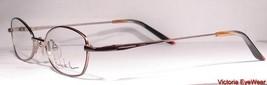 Nicole Miller Data Diva Fudge Ripple Eyeglasses Eyewear Frames New - $49.49