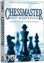 Chessmaster: 10th Edition (PC CD-Rom Software, Ubisoft, 2004) - $67.81