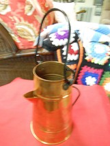 Great Collectible  COPPER COFFEE POT ... FLOWER POT...SALE.....FREE POST... - $20.79