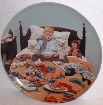 En Kedelig Snue (Bored Sick) by Kurt Ard; Collector Plate - $24.75