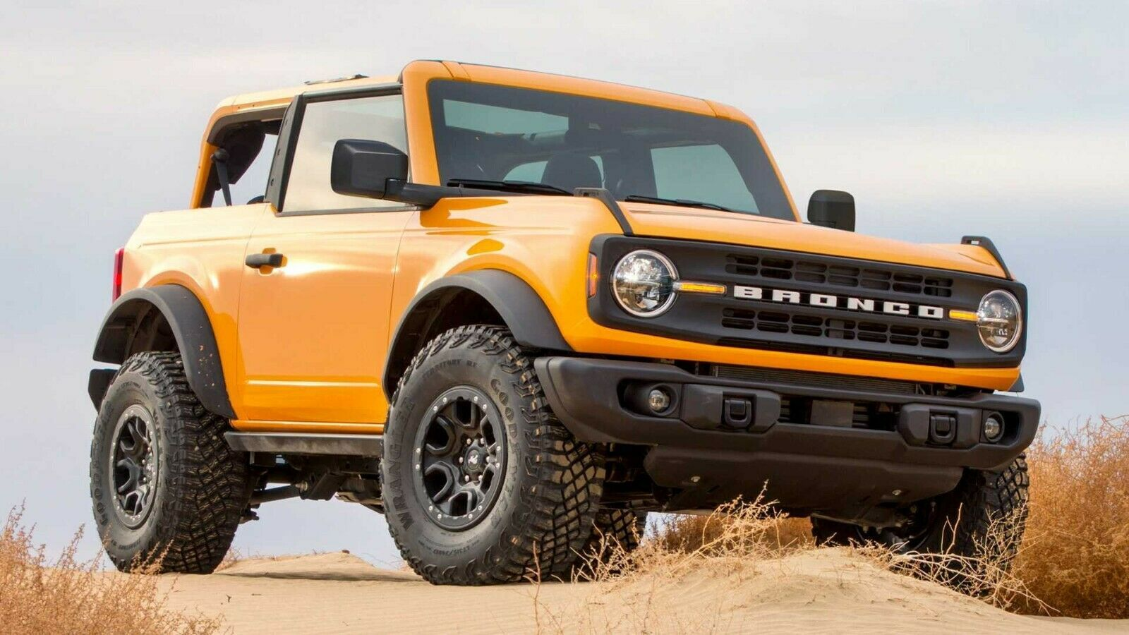 2021 Ford Bronco orange, 24X36 inch poster, Awesome! - Art ...