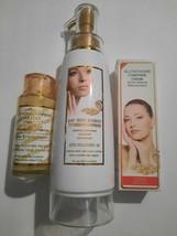 Glutathione Comprime Whitening Body Lotion ,Serum,tube Set. - $127.71