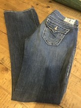TRUE RELIGION - Womens Straight Leg Fit Denim Jeans - Size 28 - $42.08