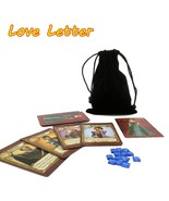 English Love Letter Board Game Best 2 To 4 Player Playing Cards - $11.94