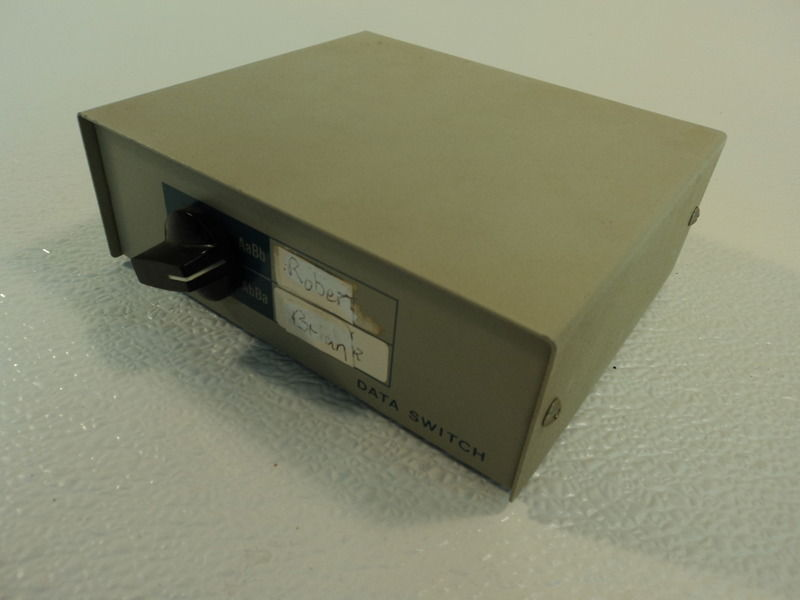 Standard Manual Data Switch Box DB25 2 Port