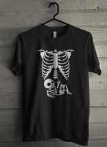 Maternity Skeleton Baby - Custom Men's T-Shirt (397) - $19.13+