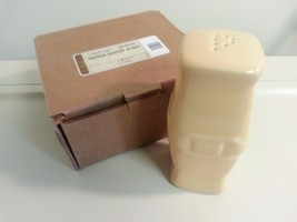 Longaberger Pottery Butternut Pepper Shaker New in Box 3166150 - $22.72