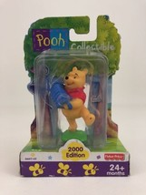 "Winnie The Pooh Collectible Toy 3"" Figure Accordion Disney Fisher Price ... - $10.84"