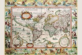 Map of the Americas by Peter Van der Keere - Art Print - $19.99+