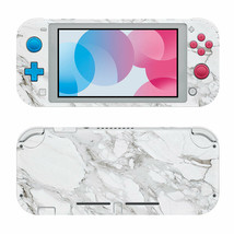 Nintendo Switch Lite Protective Vinyl Skin Wrap White Pearl Decal  - $12.84