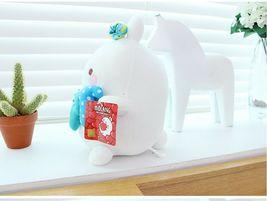 Molang Melody Plush Figure Toy Stuffed Animal Rabbit Cushion 9.8 inches (Blue) image 6