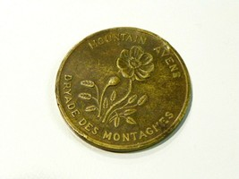 Northwest Territories Mountain Avens Canadian Token - $24.75