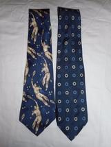 Polo by Ralph Lauren Men's Ties New 2 Ties 100% Silk  59 Inch #10 - $29.69